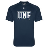 Under Armour Navy Tech Tee-UNF Monogram
