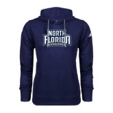 Adidas Climawarm Navy Team Issue Hoodie-North Florida Ospreys