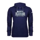 Adidas Climawarm Navy Team Issue Hoodie-North Florida Ospreys