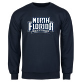 Navy Fleece Crew-North Florida Ospreys