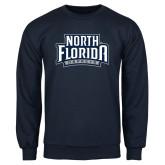 Navy Fleece Crew-North Florida Ospreys
