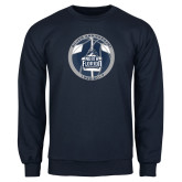 Navy Fleece Crew-25th Anniversary