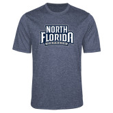 Performance Navy Heather Contender Tee-North Florida Ospreys