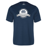 Performance Navy Tee-2017 ASUN Conference Womens Golf Champions