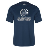 Performance Navy Tee-2017 ASUN Conference Womens Tennis Champions