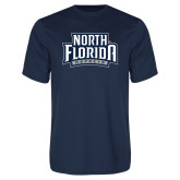 Syntrel Performance Navy Tee-North Florida Ospreys