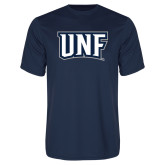 Performance Navy Tee-UNF Monogram