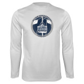Performance White Longsleeve Shirt-25th Anniversary