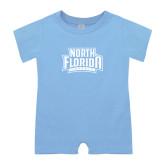 Light Blue Infant Romper-North Florida Ospreys