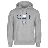 Grey Fleece Hoodie-Golf Type