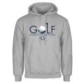 Grey Fleece Hoodie-Golf Type