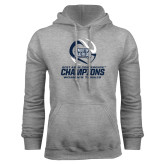 Grey Fleece Hoodie-2017 ASUN Conference Womens Tennis Champions