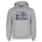 Grey Fleece Hoodie-North Florida Ospreys