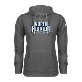 Adidas Climawarm Charcoal Team Issue Hoodie-North Florida Ospreys