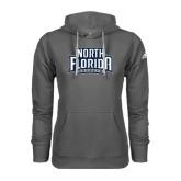 Adidas Climawarm Charcoal Team Issue Hoodie-North Florida Ospreys