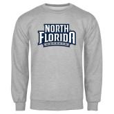 Grey Fleece Crew-North Florida Ospreys