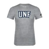 Adidas Sport Grey Logo T Shirt-UNF Monogram