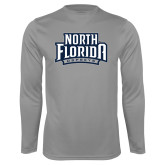 Performance Steel Longsleeve Shirt-North Florida Ospreys