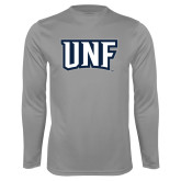 Performance Steel Longsleeve Shirt-UNF Monogram