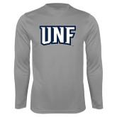 Syntrel Performance Steel Longsleeve Shirt-UNF Monogram