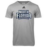 Adidas Climalite Sport Grey Ultimate Performance Tee-North Florida Ospreys