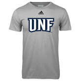 Adidas Climalite Sport Grey Ultimate Performance Tee-UNF Monogram