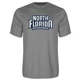 Performance Grey Concrete Tee-North Florida Ospreys
