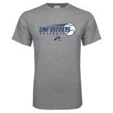 Grey T Shirt-Baseball w/ Flying Ball
