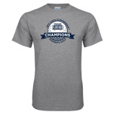Grey T Shirt-2017 ASUN Conference Womens Golf Champions