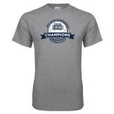 Grey T Shirt-2017 ASUN Conference Womens Golf Champions