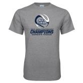 Grey T Shirt-2017 ASUN Conference Womens Tennis Champions