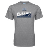 Grey T Shirt-2017 ASUN Conference Womens Tennis Champions