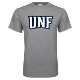 Grey T Shirt-UNF Monogram