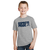 Youth Grey T-Shirt-Ospreys Pride