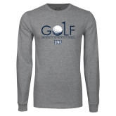Grey Long Sleeve T Shirt-Golf Type