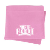 Pink Sweatshirt Blanket-North Florida Ospreys