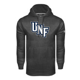 Under Armour Carbon Performance Sweats Team Hoodie-Diagonal UNF Monogram