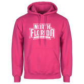 Fuchsia Fleece Hoodie-North Florida Ospreys