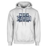 White Fleece Hoodie-North Florida Ospreys