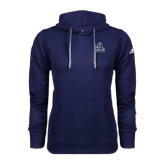 Adidas Climawarm Navy Team Issue Hoodie-Official Logo