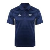 Adidas Climalite Navy Jaquard Select Polo-UNF Monogram