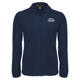 Fleece Full Zip Navy Jacket-North Florida Ospreys