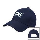 Navy Heavyweight Twill Pro Style Hat-UNF Monogram