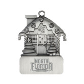 Pewter House Ornament-North Florida Ospreys Engraved