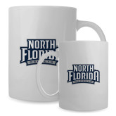 Full Color White Mug 15oz-North Florida Ospreys