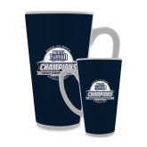Full Color Latte Mug 17oz-2017 ASUN Conference Womens Golf Champions Back To Back
