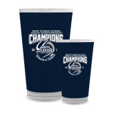 Full Color Glass 17oz-2017 ASUN Conference Womens Tennis Champions Back To Back