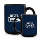 Full Color Black Mug 15oz-North Florida Ospreys