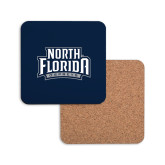 Hardboard Coaster w/Cork Backing-North Florida Ospreys