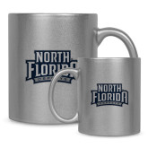 Full Color Silver Metallic Mug 11oz-North Florida Ospreys